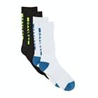 Oakley Back Logo 2 Pk Socks