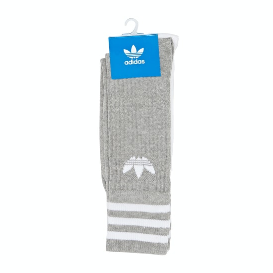Fashion Socks Adidas Originals Solid Crew 2pack