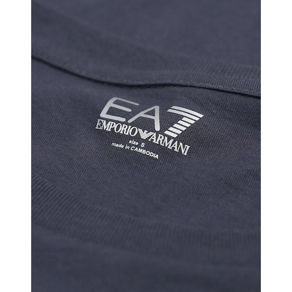 EA7 Cotton Футболка с коротким рукавом