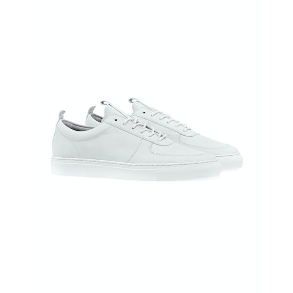 innovative design 2eaf9 256c5 Grenson Sneaker 22 Dress Shoes - White Nubuck | Country Attire