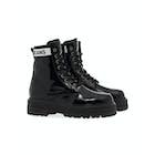 Tommy Hilfiger Patent Leather Flatform Damen Stiefel