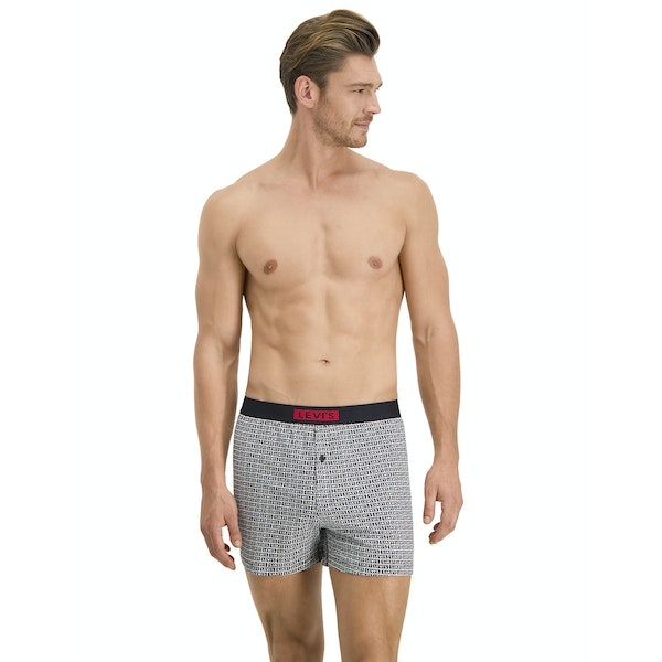 Levi's Babytab Aop Loose Fit 2 Pack Boxer Shorts