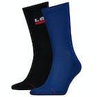 Levi's Regular Cut Vertical Sportswear Logo Socks