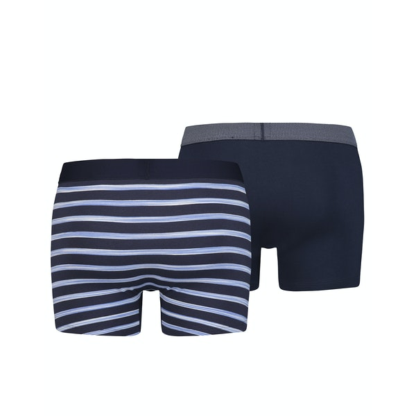 Levi's Spacedye Stripe 2 Pack Boxer Shorts