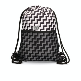 Converse Cinch Gym Bag - Black white