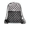 Converse Cinch Gym Bag - Black white