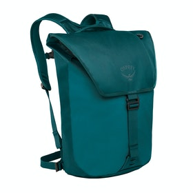 Osprey Transporter Flap Backpack - Westwind Teal
