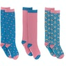 Derby House Adults Bamboo Cotton Frenchie Pack of 3 Ladies Socks