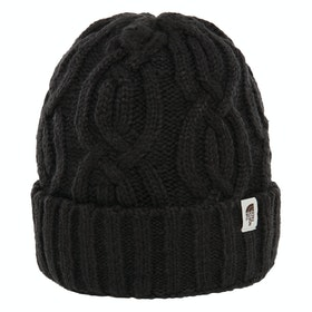 North Face Cable Minna Dames Beanie - Tnf Black