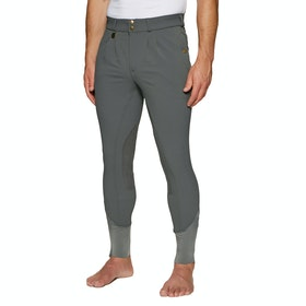 Derby House Elite Mens Riding Breeches - Pewter