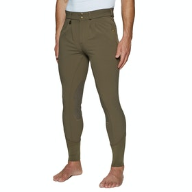 Derby House Elite Mens Riding Breeches - Chocolate Chip