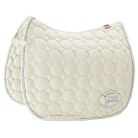 Eskadron Platinum Cotton Saddlepads - Off White
