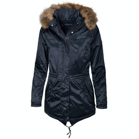 Pikeur Alania Parka Ladies Riding Jacket - Dark Navy