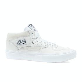 Vans Half Cab Pro Leather Shoes - White