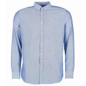 Barbour Oxford 3 Tailored Mens Shirt - Sky