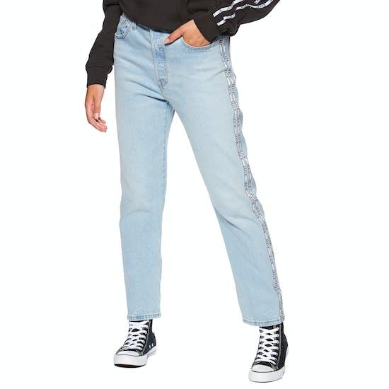 Levi's 501 Crop Womens Jeans