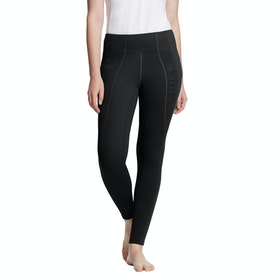 Ariat Attain Thermal Full Seat Ladies Riding Tights - Black