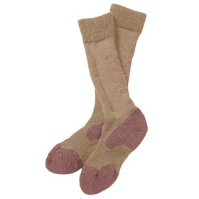 Ariat Tek Alpaca Performance Socks - Beige Rose