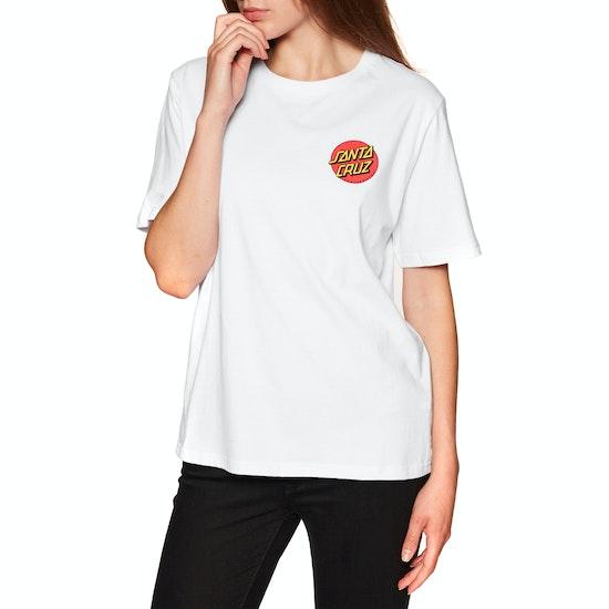 Santa Cruz Classic Dot Womens Short Sleeve T-Shirt