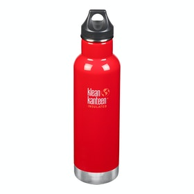 Klean Kanteen Insulated Classic 592ml (w/loop Cap) Wasserflasche - Mineral Red