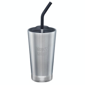 Бутылка для воды Klean Kanteen Insulated Tumbler 473ml (w/straw Lid) - Brushed Stainless