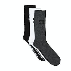 Quiksilver 3 Crew Pack Socks - Assorted
