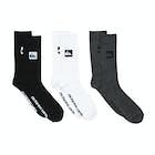 Quiksilver 3 Crew Pack Socks