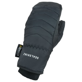 Sealskinz Waterproof Extreme Cold Weather Down Mitten Gloves - Black