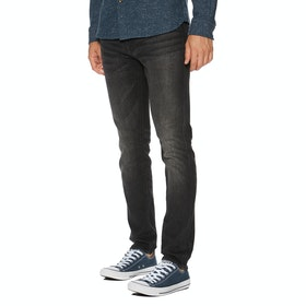 Jeans Superdry Tyler Slim Flex - Keating Washed Black