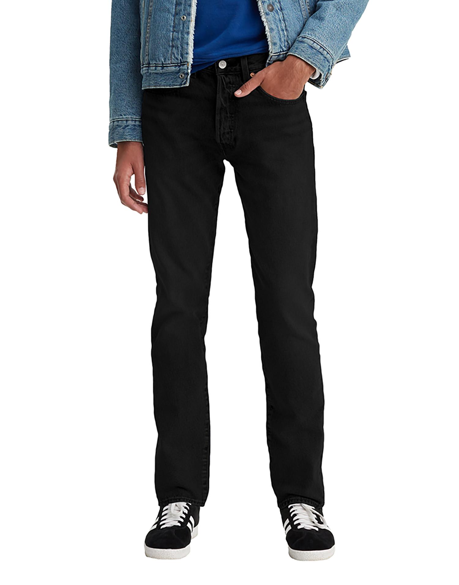 NEW Levi's 501 Taper Jeans Black NWT