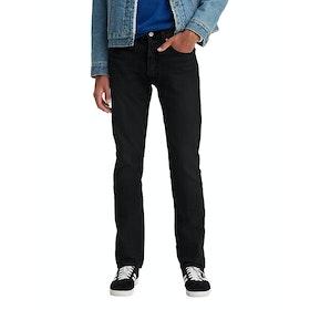 Levi's 501 Slim Taper Jeans - Black Black Od