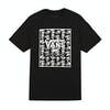 Vans Print Box Youth Boys Short Sleeve T-Shirt - Black Skulls