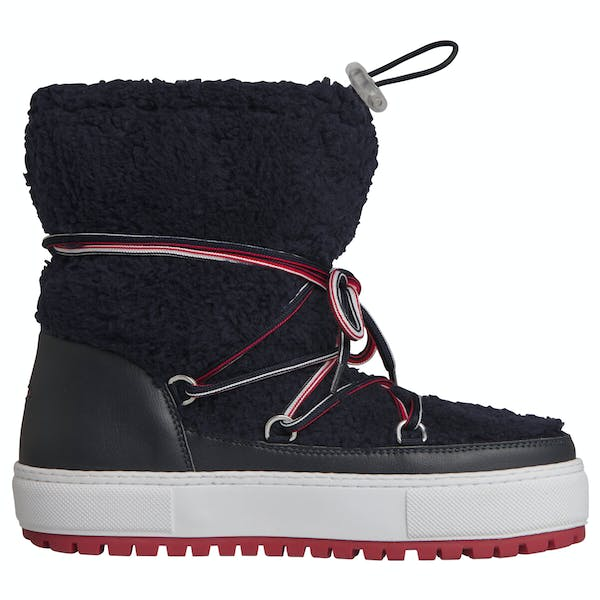 Tommy Hilfiger Signature Teddy Snow Damen Stiefel