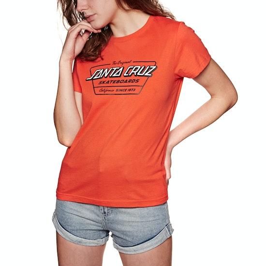 T-Shirt à Manche Courte Femme Santa Cruz Home Coming