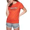 Santa Cruz Home Coming Womens Short Sleeve T-Shirt - Tomato
