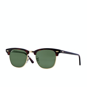 Gafas de sol Ray-Ban Clubmaster - Mock Turtle Arista ~ Crystal Green