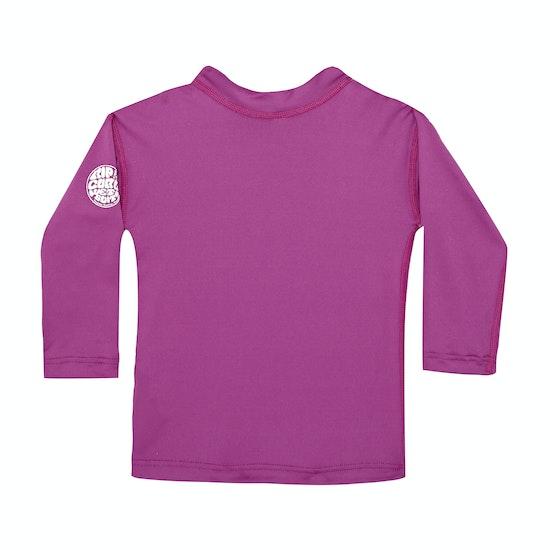 Rip Curl Corpo Long Sleeve Girls Rash Vest