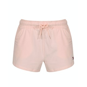 Tommy Hilfiger Drawstring Jersey Women's Shorts - Pale Blush