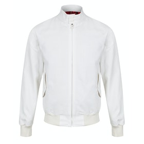 Fred Perry Re Issues Made In England Harrington Jacket - Ecru