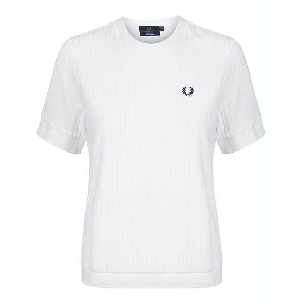 Fred Perry Re Issues Crew Neck Towelling , Kortärmad T-shirt