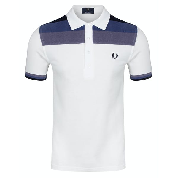 Fred Perry Re Issues Towelling Panel Pique Koszulka polo