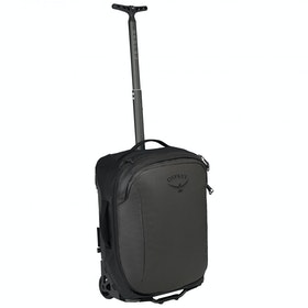 Bagagem Osprey Rolling Transporter Global Carry-on 30 - Black