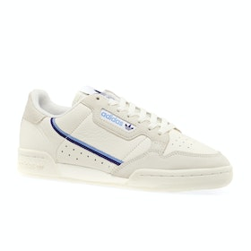 Adidas Originals Continental 80 Womens Shoes - Off White Cloud White Raw White