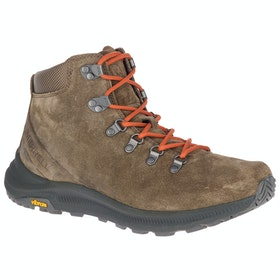 Merrell Ontario Suede Mid Boots - Canteen