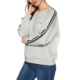 Sudadera Mujer Rip Curl Racer Crew Fleece - Cement Marle
