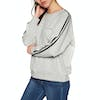Rip Curl Racer Crew Fleece Womens Sweater - Cement Marle