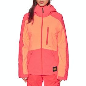 O'Neill Aplite Snow Jacket - Neon Flame