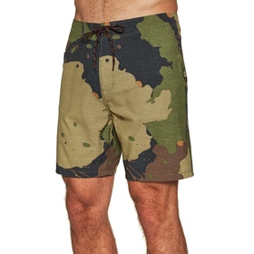 Hurley Phantom JJF Recruit 18in Boardshorts - Legion Green