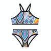Seafolly Desert Rose Apron Tankini Girls Bikini - Multi