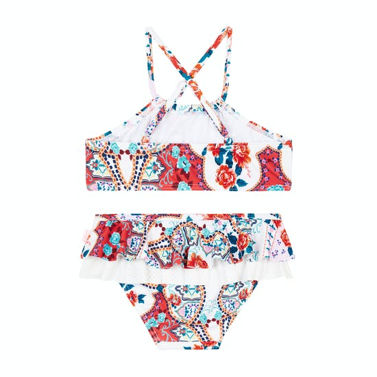 Biquini Girls Seafolly Sea Gypsy Apron Tankini